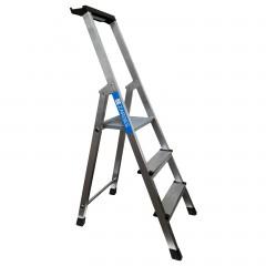 Zarges Z300 genietete Stehleiter 3 Stufen **SONDERPOSTEN**