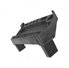 Zarges Ablageschale für Stufen-Stehleiter mit genietete Stufe 42x25mm Holmaußenmaß