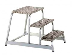 Zarges Z600 Aluminium Montagetritt starr 3 Stufen