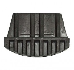 Zarges Außenschuh für Stufenstehleiter 75x25mm