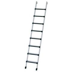 Zarges Anlegeleiter Comfortstep L mit gepolsterten Stufen