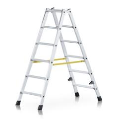 Zarges gebördelte Doppelstufenleiter Nova B 2x6 Stufen