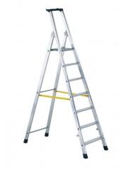Zarges Z300 Gebördelte Stehleiter 4 Stufen