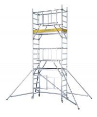 Zarges Z500 S-PLUS Klappgerüst COMPACT, einfache Plattformbreite