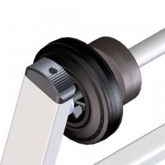 Zarges Mastfahrwerk für Aluminium-Leitern
