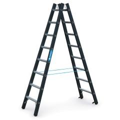 Zarges SL Doppelleiter Megastep B 2x8 Stufen