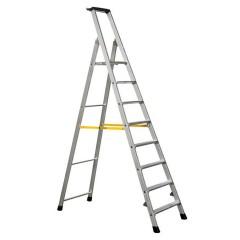Zarges Nova S gebördelte Stehleiter 8 Stufen