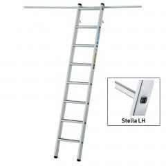Zarges Regaleinhängeleiter Stella LH mit 6 Stufen