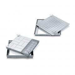 Zarges Schachtabdeckungen aus Stahl mit Wanne oder Deckplatte