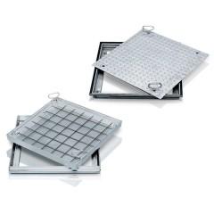 Zarges Aluminium Schachtabdeckungen mit Wanne oder Deckplatte