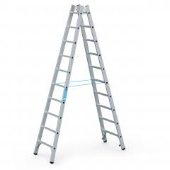Zarges Sprossenstehleiter Coni B 2x10 Sprossen