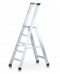 Zarges Stehleiter Seventec S mit Sicherheitsplattform 4 Stufen