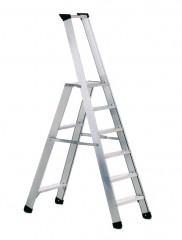Zarges Stehleiter Seventec S mit Sicherheitsplattform 6 Stufen