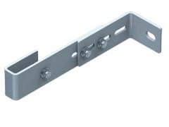 Zarges Wandhalter verstellbar Stahl verzinkt 200-275mm Wandabstand