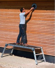 Zarges Arbeitsplattform klappbar Workmaster Plus P Holz Plattformbelag