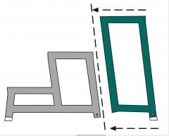 Zarges Aluminium-Arbeitspodest AMA P Modul D