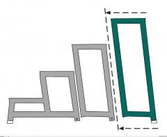 Zarges Aluminium-Arbeitspodest AMA P Modul E