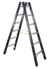 Zarges SL Doppelleiter Megastep B 2x6 Stufen