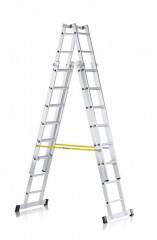 Zarges Sprossen-Stehleiter Vario B 4x12 Sprossen