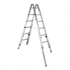 Zarges Stehleiter Varioflex B mit verlängerbaren Holmen 2x6 Stufen