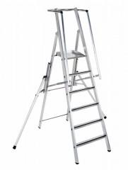 Zarges Z600 ZAP Stufenleiter mit großer Plattform