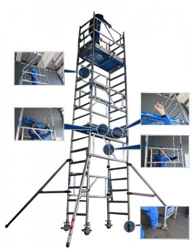 ASC Rollgerüst XXS-Tower