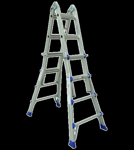 ASC  Teleskopleiter 4x4 Sprossen