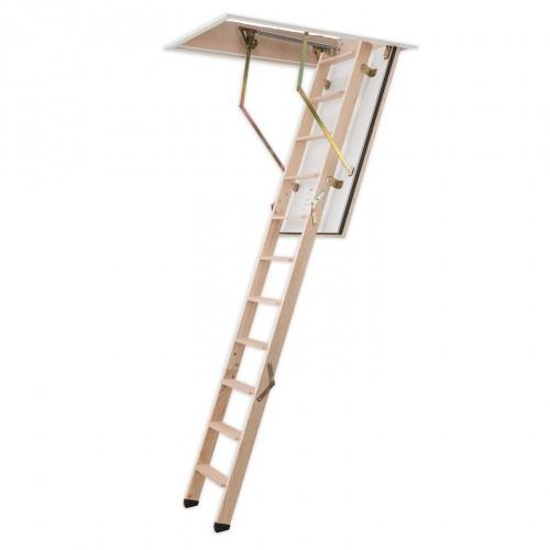 Dolle Bodentreppe F30 3-teilig bis 285cm Raumhöhe mit U-Wert 0,96 Standardmaße