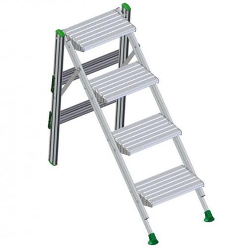 Facal Klapptreppe Plio Aluminium 4 Stufen