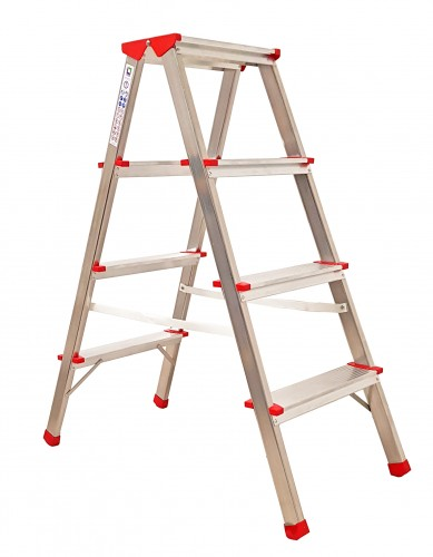 Günzburger Doppelleiter 2x5 Stufen