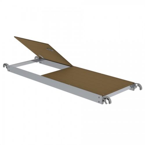 Günzburger Plattform mit Klappe für Gerüstlängen 1,80m