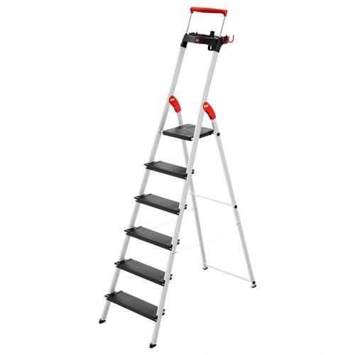 Hailo L100 TopLine Stehleiter 6 Stufen