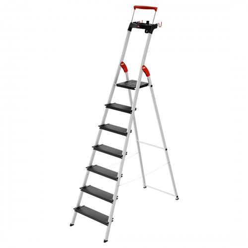Hailo L100 TopLine Stehleiter 7 Stufen