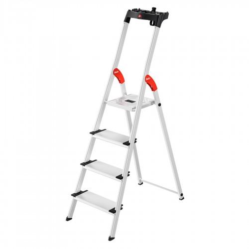 Hailo L80 ComfortLine Stehleiter 4 Stufen