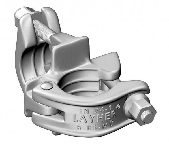 Layher FG-Spezialkupplung starr (SW 19)