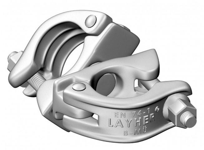 Layher FG Spezialkupplung drehbar (SW19)
