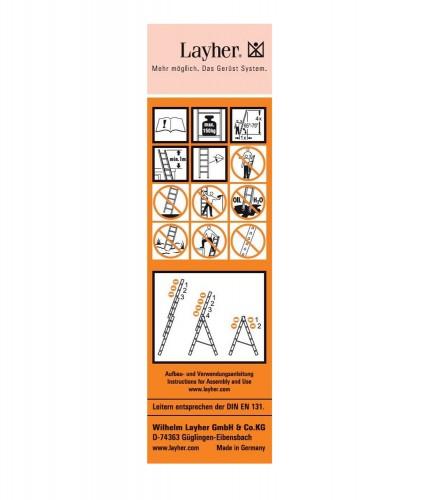 Layher Universal-Etikett 10 Stück