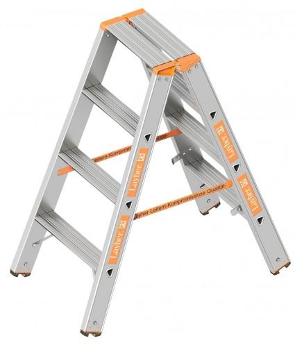 Layher Topic 1043 Stufenstehleiter 2x4 Stufen