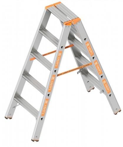 Layher Topic 1043 Stufenstehleiter 2x5 Stufen