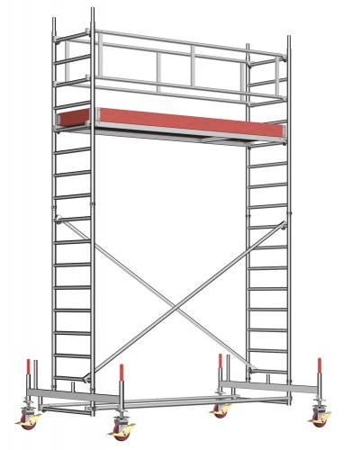 Layher Rollgerüst Uni Standard 5,35m AH