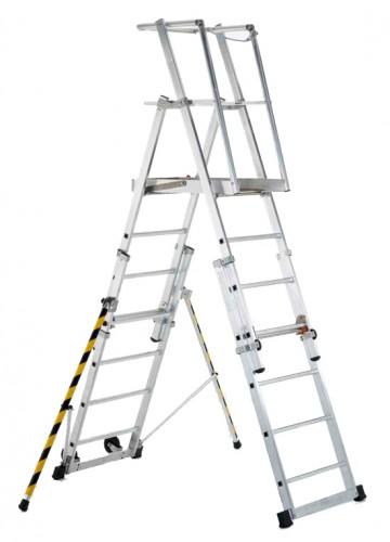 Zarges Teleskop-Plattformleiter ZAP Telemaster S