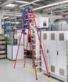 Zarges Breitsprossen-Stehleiter in GFK-Mischbauweise EFAmix B 2x12 Sprossen-small