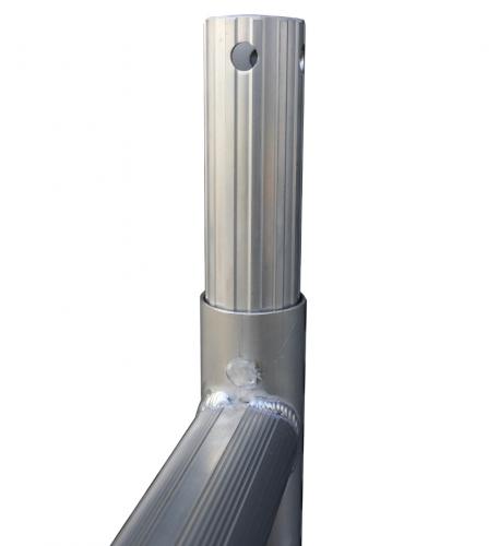 ASC Universales Fahrgerüst einfache Plattformbreite 0,75m