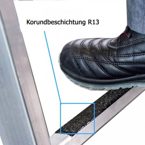 Günzburger Stehleiter SprossenSafe R13 2x6 Sprossen