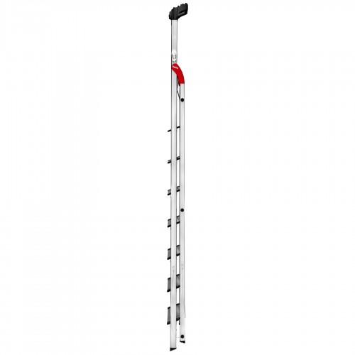 Hailo L80 ComfortLine Stehleiter 8 Stufen