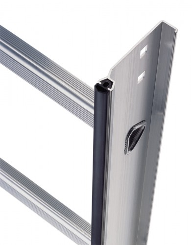 Layher 1051 Dachleiter aluminium 15 Sprossen