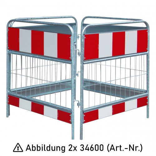 Schake Schachtschutzgitter 2-teilig nach TL