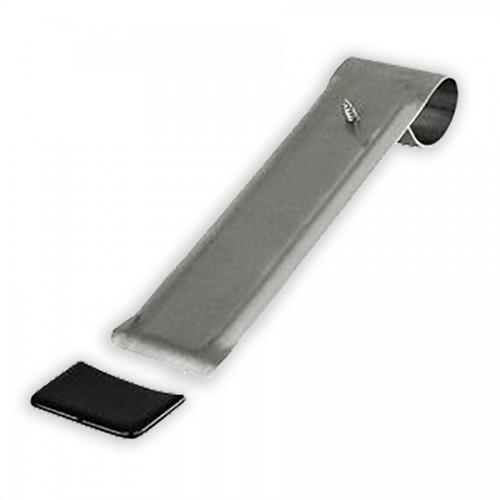 PVC-Schutzkappe für Schneestopper 85/135mm, Rechteckkappe, schwarz