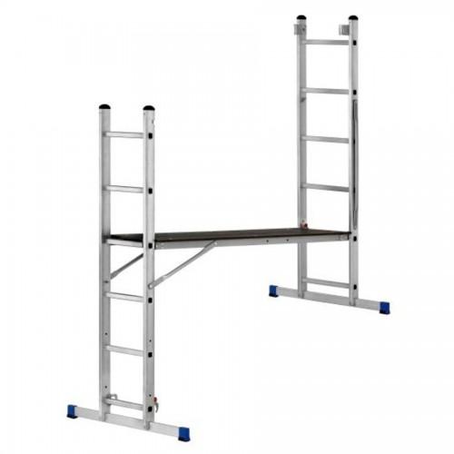 Aluminium Arbeitsgerüst und Leiterkombination