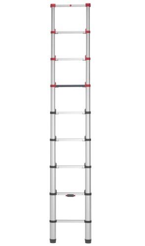 Hailo FlexLine T80 Sicherheits-Teleskopleiter 9 Sprossen